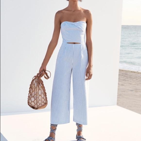 a11126d1fddb Zara strapless jumpsuit